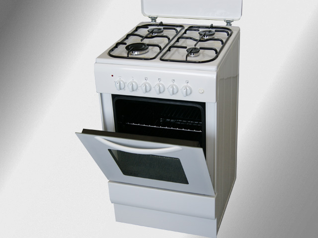50 cm gas stand herd elektro backofen orig 570 gas standherd gasherd ebay. Black Bedroom Furniture Sets. Home Design Ideas