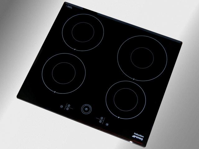 58 cm breites smeg induktionskochfeld booster stark ceranfeld induktion augsburg ebay. Black Bedroom Furniture Sets. Home Design Ideas