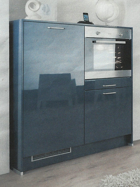 wellmann alno ag fotok che musterk che ausstellungsk che incl ger te ebay. Black Bedroom Furniture Sets. Home Design Ideas