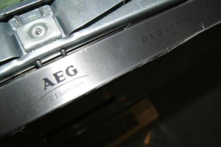 aeg ko sp lmaschine orig 979 vollintegriert sonderh he f r hohe k chen ebay. Black Bedroom Furniture Sets. Home Design Ideas