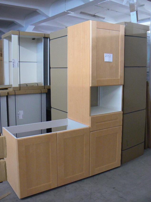 k che ahorn massiv kochinsel e k preis schubladen und hochschr nke ebay. Black Bedroom Furniture Sets. Home Design Ideas