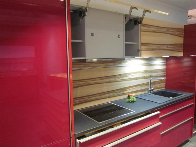Moderne Küche orig 37570 Miele Musterküche mit Insel Granit Liebherr Glasfront eBay