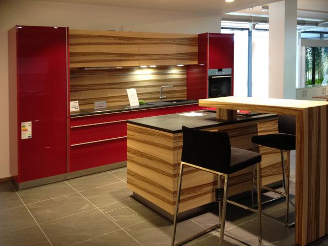 moderne k che miele musterk che mit insel granit liebherr glasfront ebay. Black Bedroom Furniture Sets. Home Design Ideas