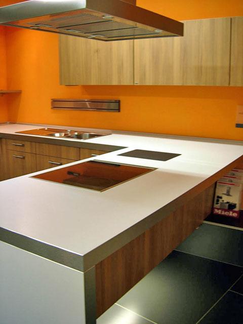 u k che leicht k che front nu baum nischensystem. Black Bedroom Furniture Sets. Home Design Ideas