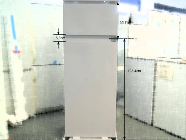 144cm einbau k hl gefrier kombination k hl gefrierschrank extra gefrierteil oben ebay. Black Bedroom Furniture Sets. Home Design Ideas
