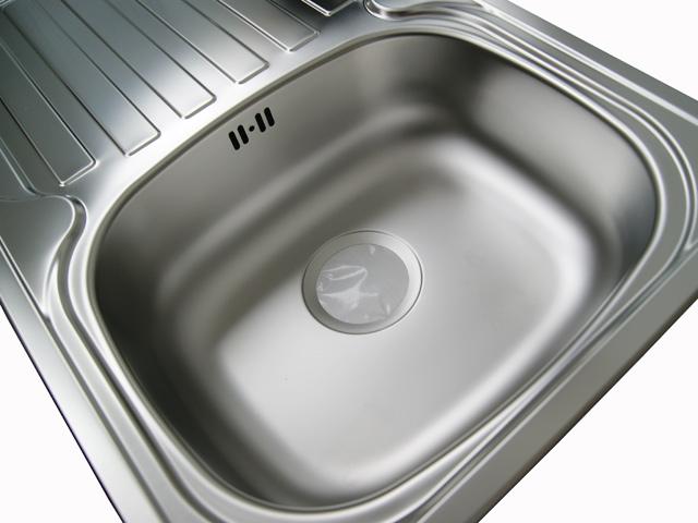 Spüle Edelstahl 1 Becken Einbauspülbecken Küchen  ~ Spülbecken Tief