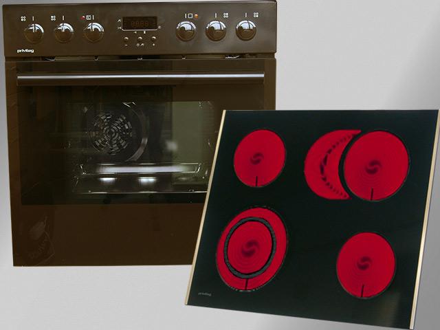 Herdset orig.899- Herd Einbauherd Küche Electrolux Quelle Privileg ...