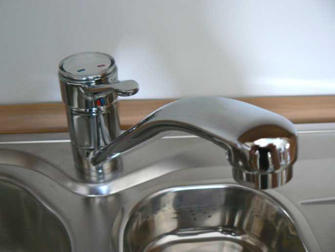chrom einbau sp le einhebel armatur orig 259 einhebelmischer wasserhahn k che ebay. Black Bedroom Furniture Sets. Home Design Ideas