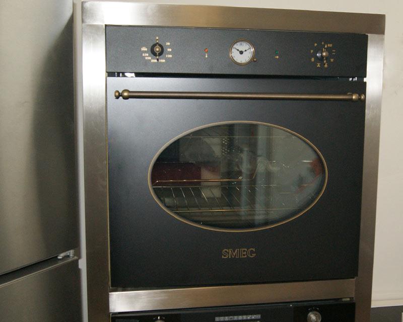 smeg scp805ao9 anthrazit backofen autark orig 1149 retro design pyrolyse ebay. Black Bedroom Furniture Sets. Home Design Ideas