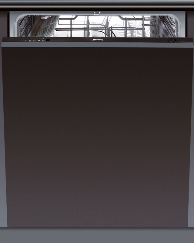 a sp lmaschine geschirrsp ler vollintegriert smeg neu leise sparsam markenware ebay. Black Bedroom Furniture Sets. Home Design Ideas