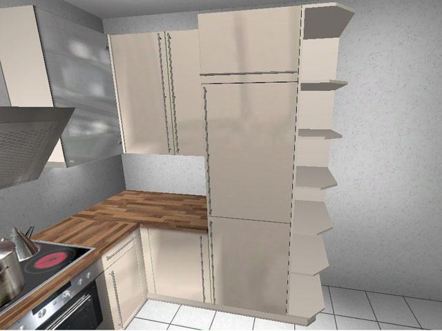 Küche Creme Hochglanz : Küche Wellman ALNO Creme, Hochglanz ...