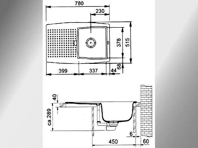 Wundervoll Einbau Spülbecken orig. 880.- Franke Corvette CEG 614 inkl Küchen  NI97