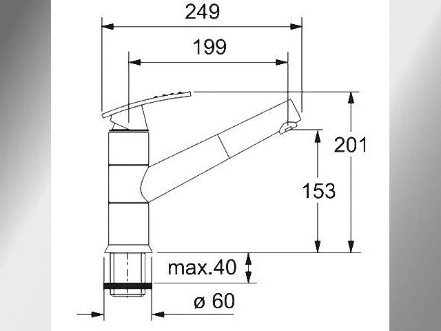 Interessant Einbau Spülbecken orig. 880.- Franke Corvette CEG 614 inkl Küchen  CV75