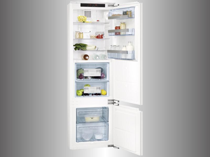 Aeg Kühlschrank Einbau : Cm einbau kühl gefrier kombination a longfresh schubladen bio