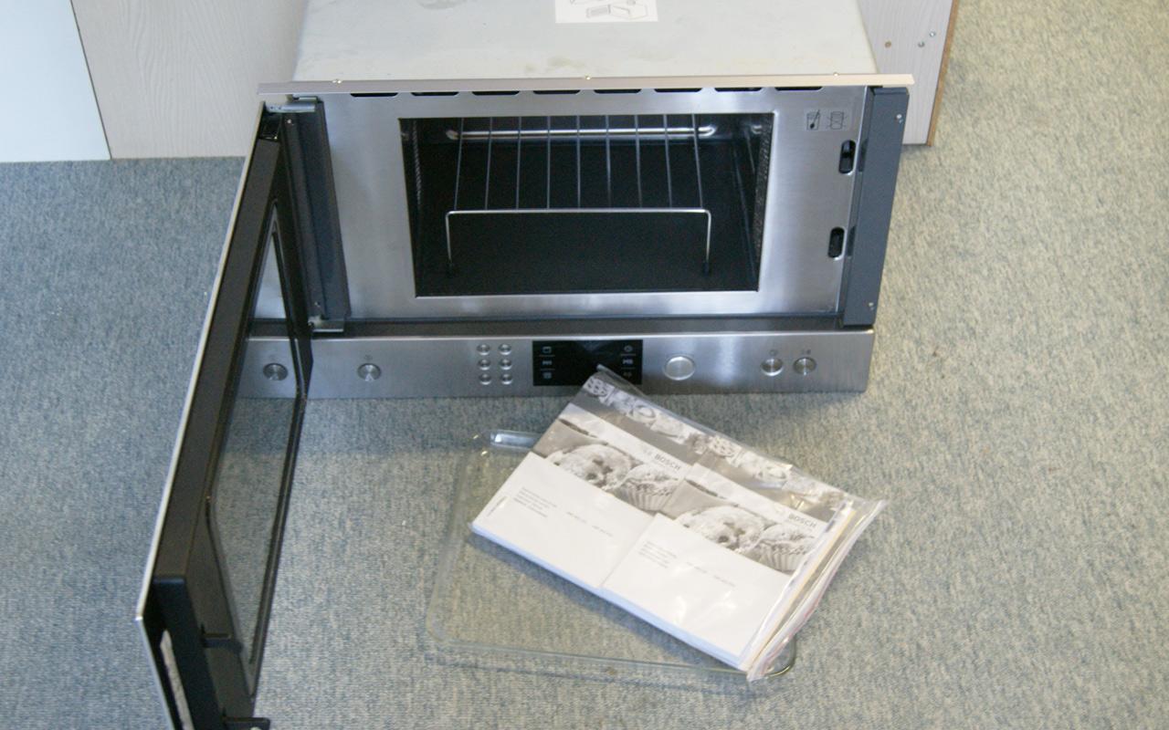 bosch einbau mikrowelle org 699 geeignet f r 60 cm. Black Bedroom Furniture Sets. Home Design Ideas