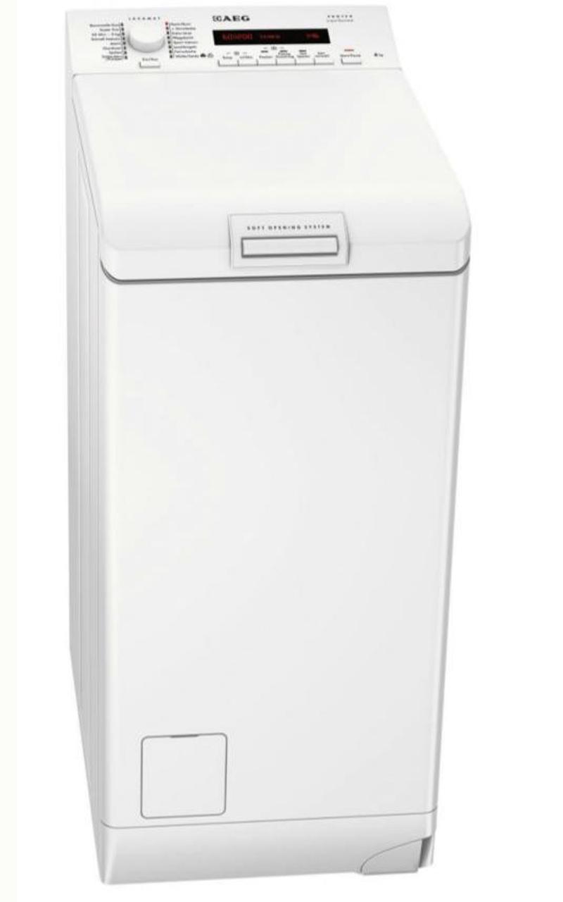 nur 40cm breite aeg lavamat l70260tl1 toplader waschmaschine breite. Black Bedroom Furniture Sets. Home Design Ideas