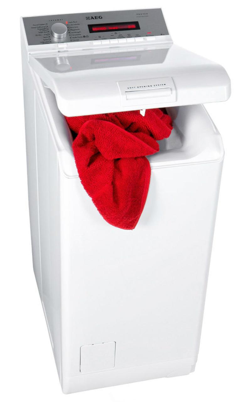 nur 40 cm aeg lavamat toplader waschmaschine 6 kg. Black Bedroom Furniture Sets. Home Design Ideas