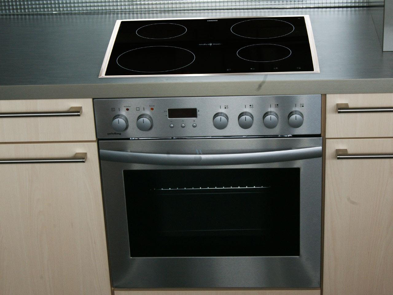 60cm privileg einbau induktion herdset orig 1499 eek a. Black Bedroom Furniture Sets. Home Design Ideas