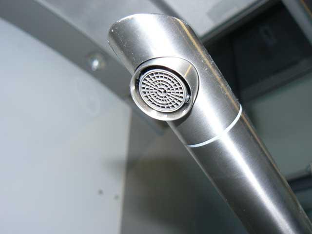 Armatur Küche Wasserhahn Spülarmatur Hahn Edelstahl Joystick INOX ...