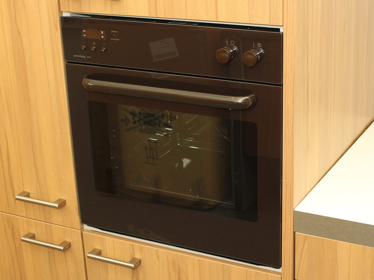 privileg backofen eb 4055 eek a autark braune front 5. Black Bedroom Furniture Sets. Home Design Ideas