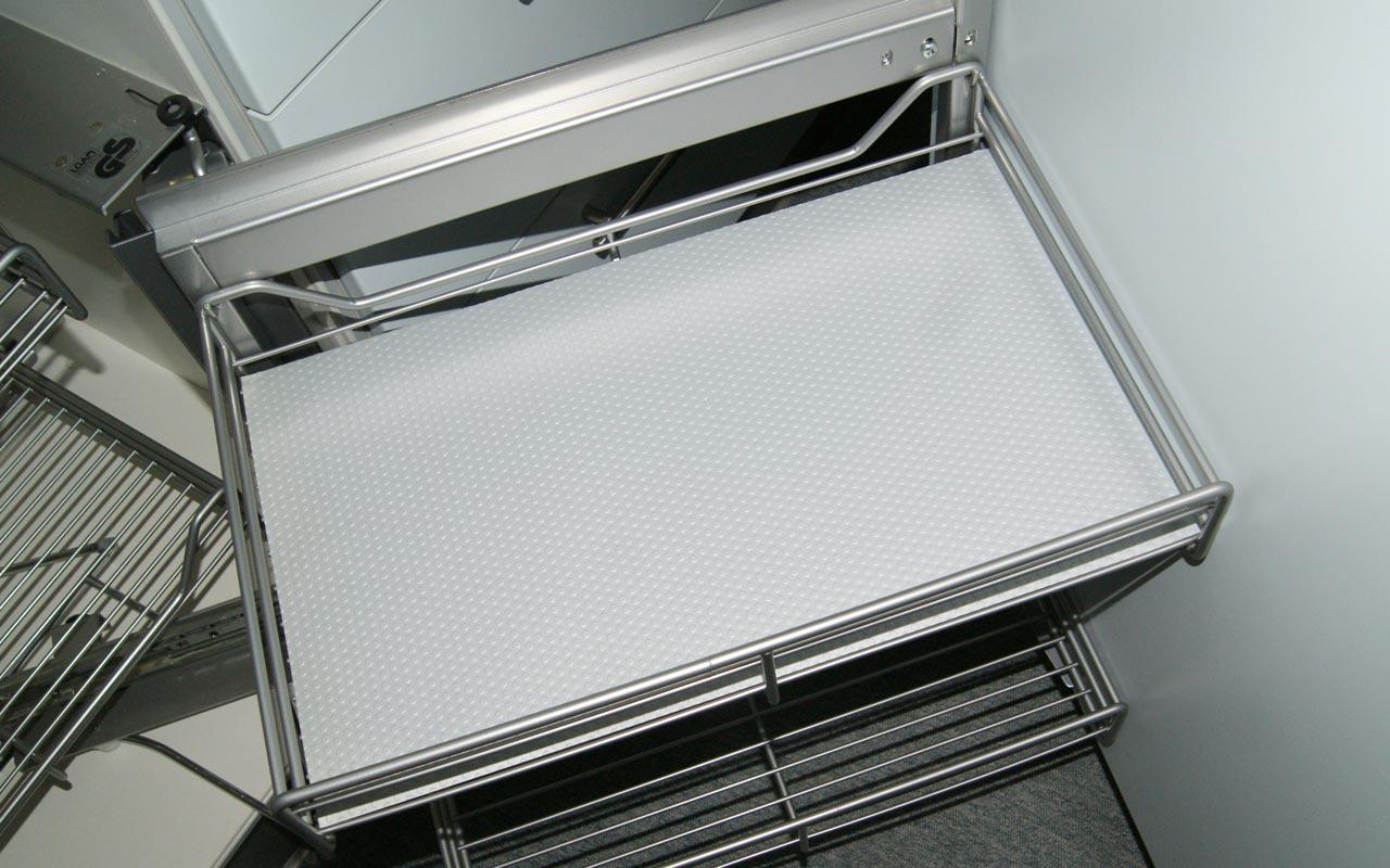Schubladenmatte schrankausstattung antirutsch matte for Küchen schubladenschrank