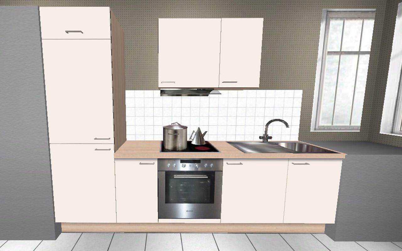 2,7 mtr. Küchenzeile OVP Alno Wellmann Magnolie Akazie Modern ... | {Wellmann küchen magnolie 24}
