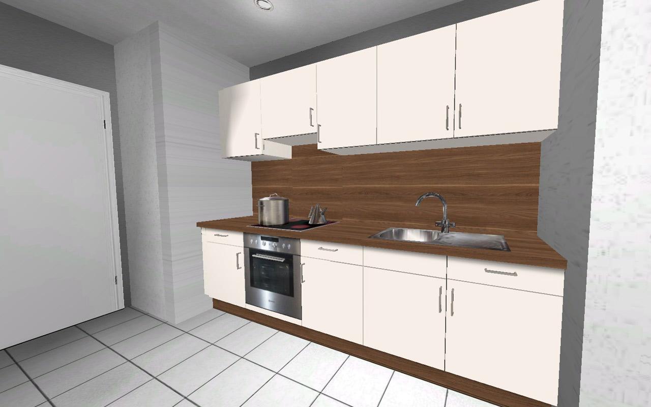 alno wellmann k che ovp k chenzeile alena 260 270 cm herdset ebay. Black Bedroom Furniture Sets. Home Design Ideas