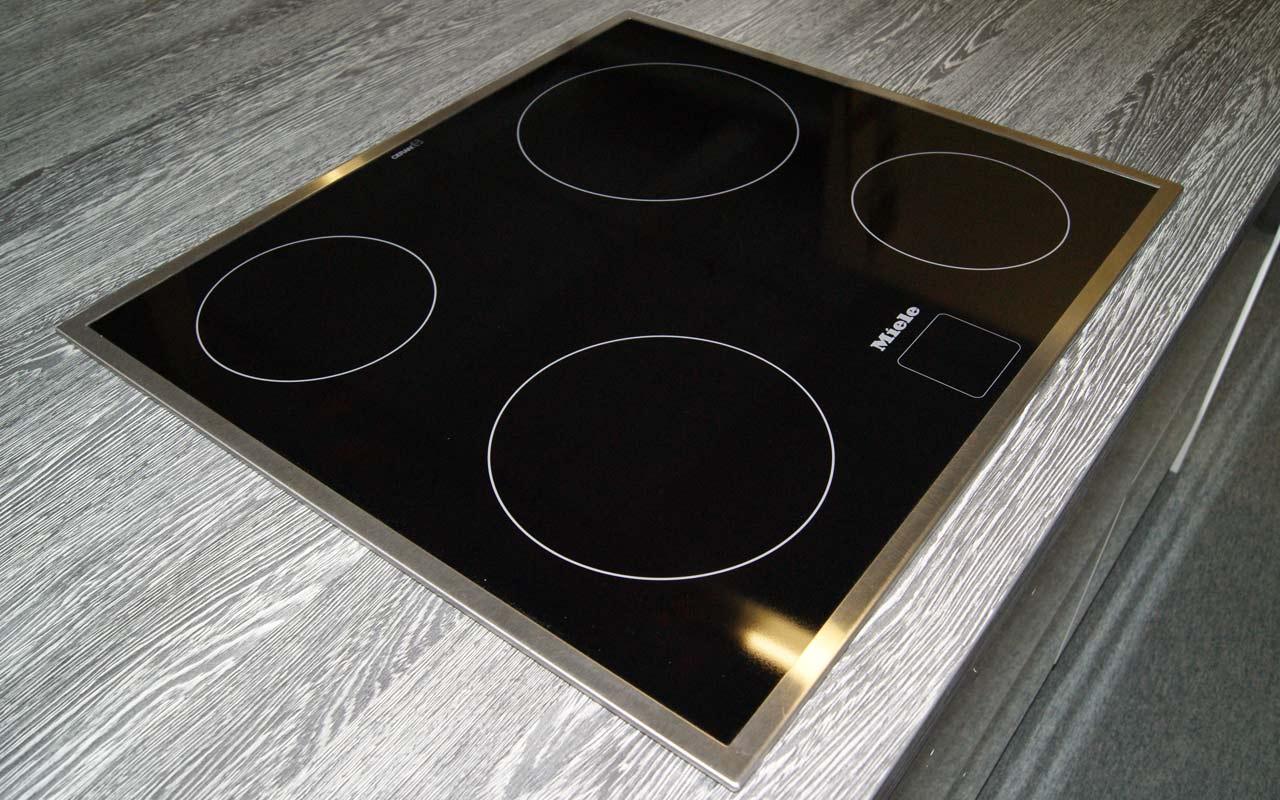 miele einbau glaskeramik kochfeld herdgebunden ceranfeld miele km610 edst ebay. Black Bedroom Furniture Sets. Home Design Ideas