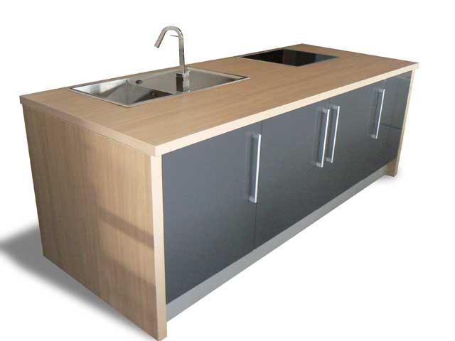k chenzeile kochinsel musterk che k che. Black Bedroom Furniture Sets. Home Design Ideas