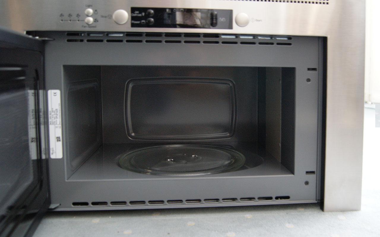 einbau whirlpool avm 960 ix mikrowelle und dunstabzug in einem ger t ebay. Black Bedroom Furniture Sets. Home Design Ideas