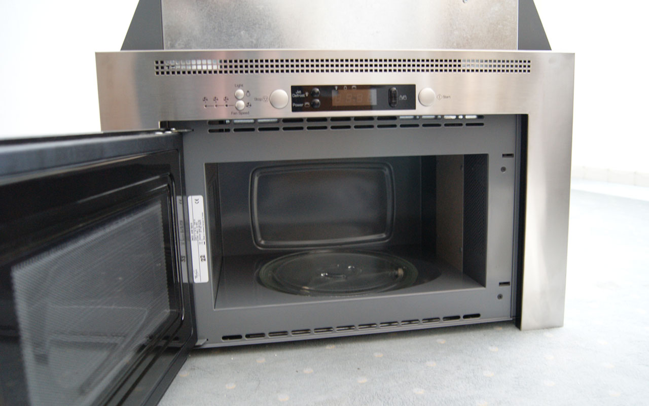 einbau whirlpool avm 960 ix mikrowelle und dunstabzug in einem ger t ebay. Black Bedroom Furniture Sets. Home Design Ideas