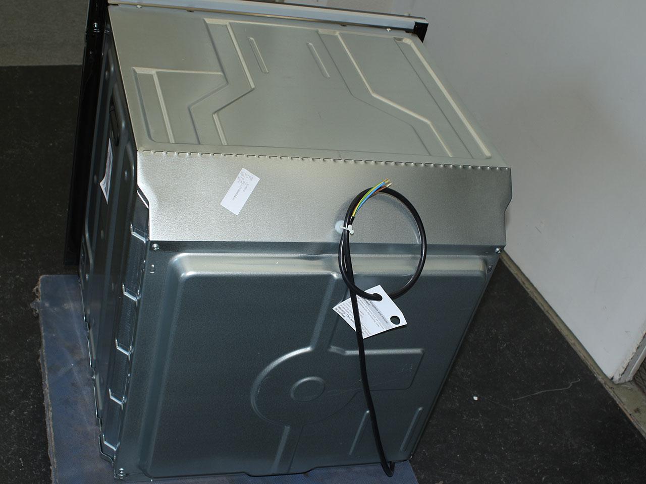 smeg backofen mit sonderzubeh r grill umluft teleskop pizzastein wasserreinigung ebay. Black Bedroom Furniture Sets. Home Design Ideas