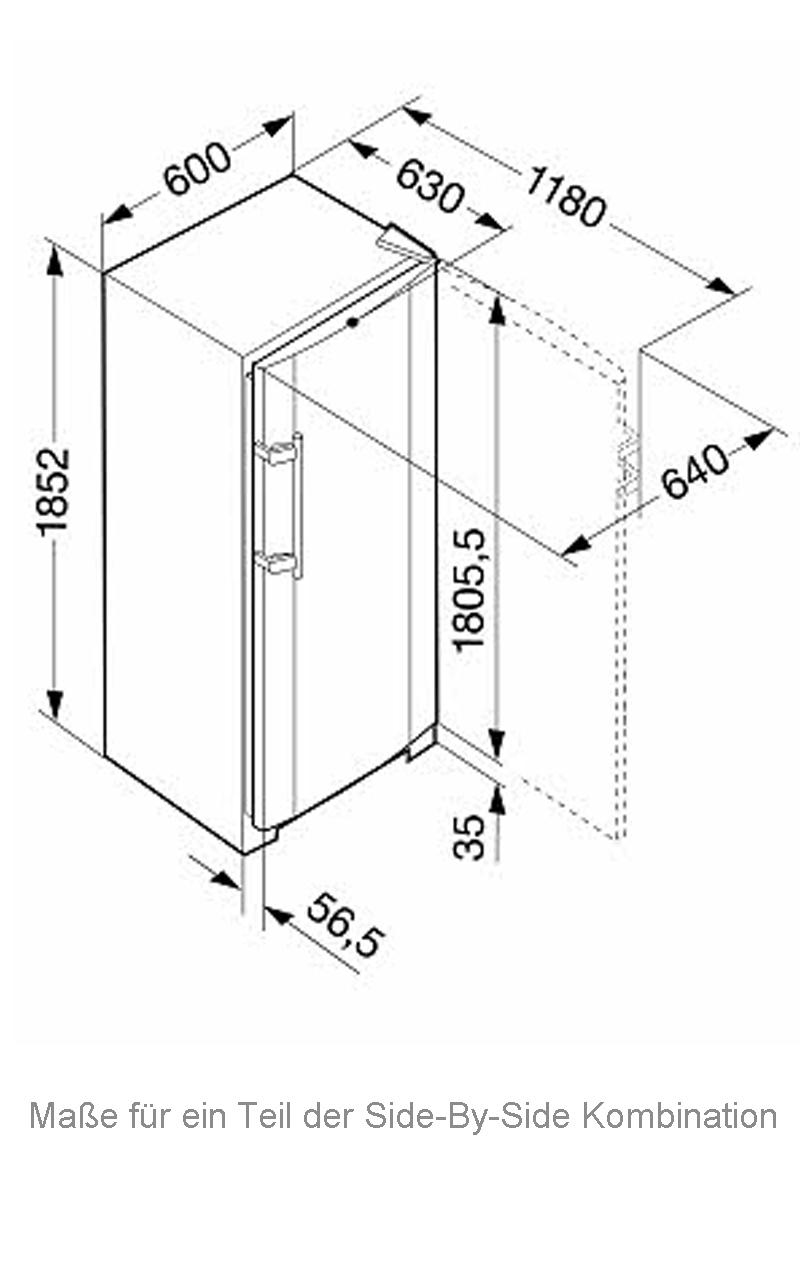 121 cm breit liebherr sbses 7212 23 side by side orig 3789 a k hlschrank ebay. Black Bedroom Furniture Sets. Home Design Ideas