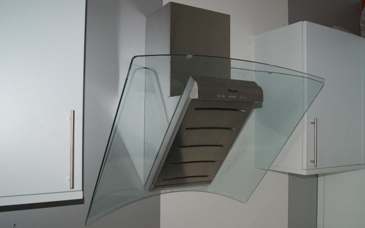 90cm miele da289 edst wand dunstabzugshaube kopffrei designhaube edelstahl glas ebay - Wand dunstabzugshauben ...