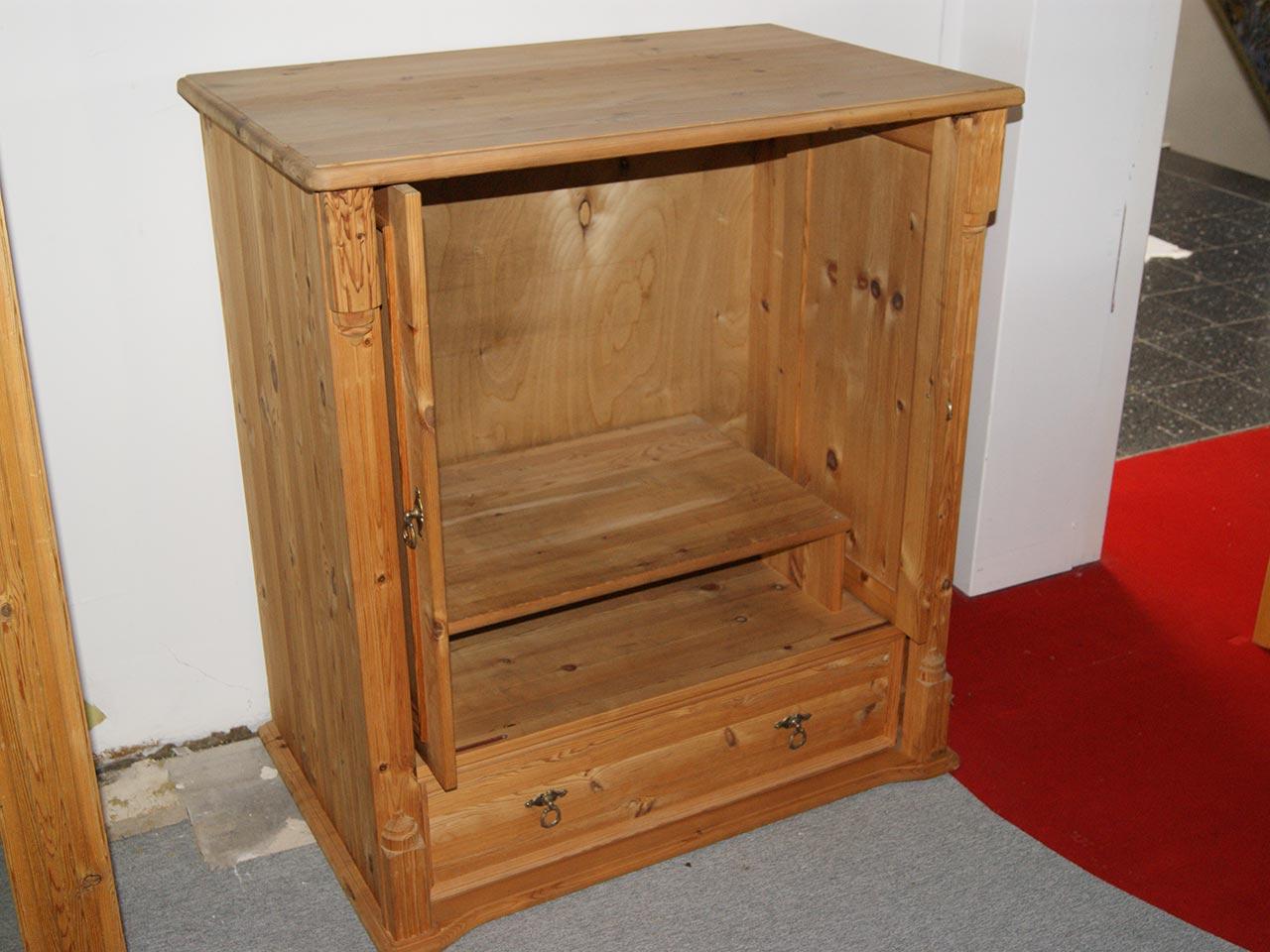 fernsehschrank fichte naturtv schrank kiefer wohnzimmer schrank ebay. Black Bedroom Furniture Sets. Home Design Ideas