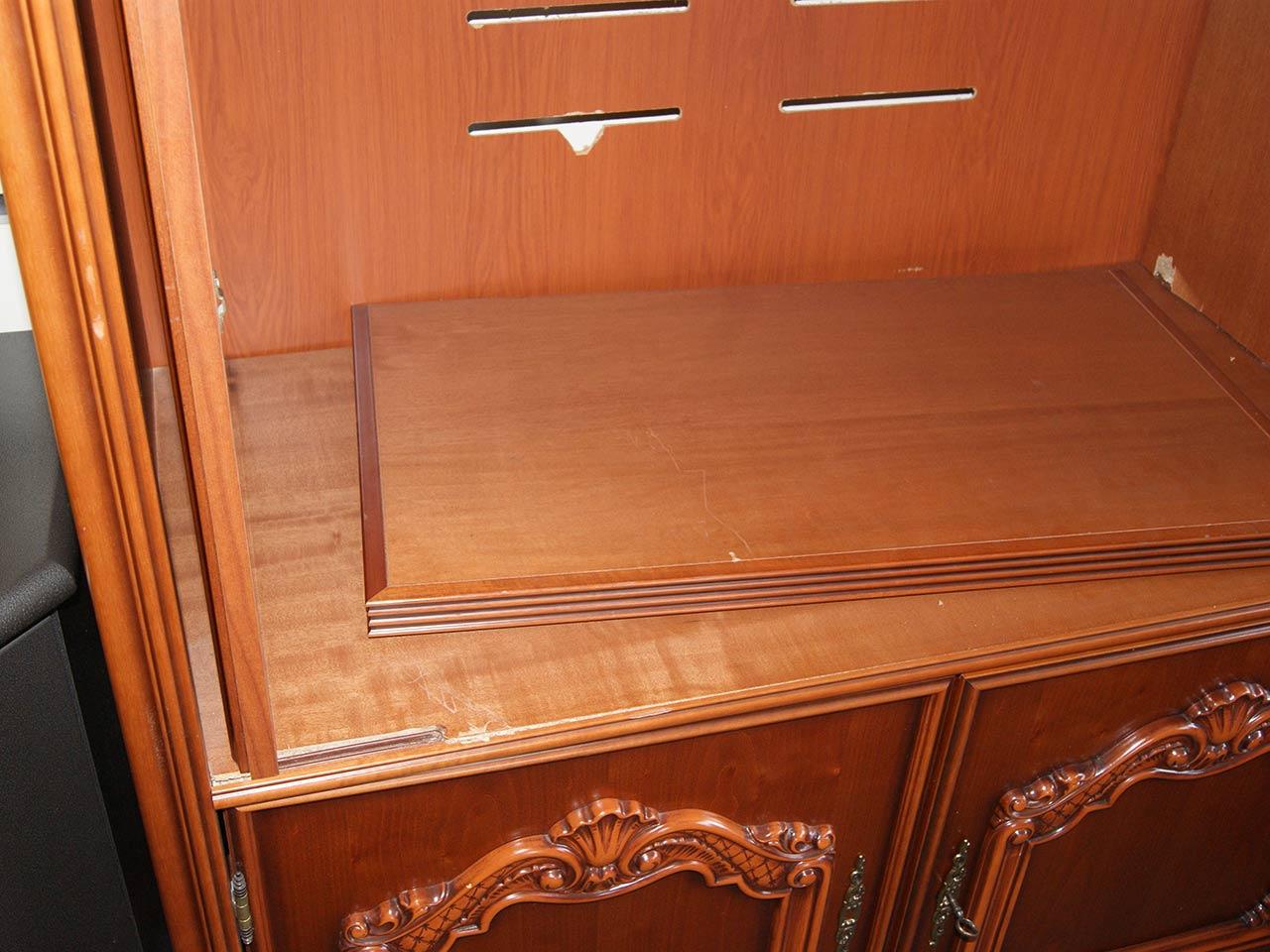 fernsehschrank tv schrank kirsche chippendale echtholzfurnier teilmassiv ebay. Black Bedroom Furniture Sets. Home Design Ideas
