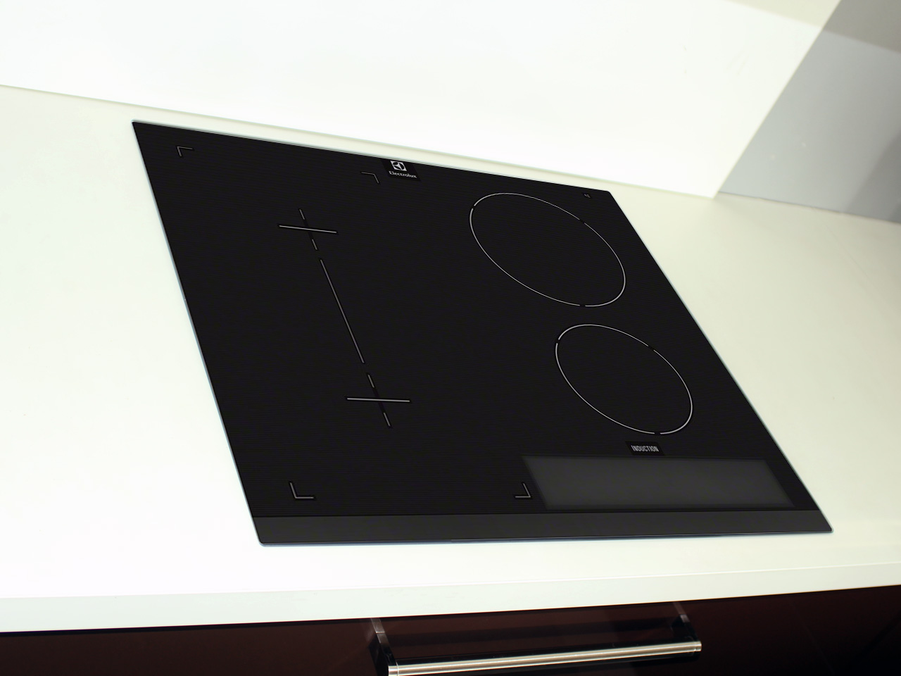 59 cm electrolux einbau induktion kochfeld topferkennung. Black Bedroom Furniture Sets. Home Design Ideas