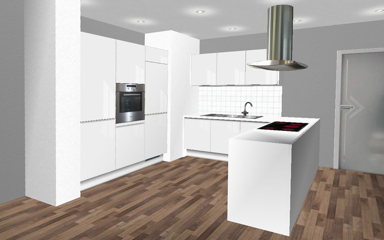 einbau backofen orig 599 edelstahl hochschrank autark. Black Bedroom Furniture Sets. Home Design Ideas
