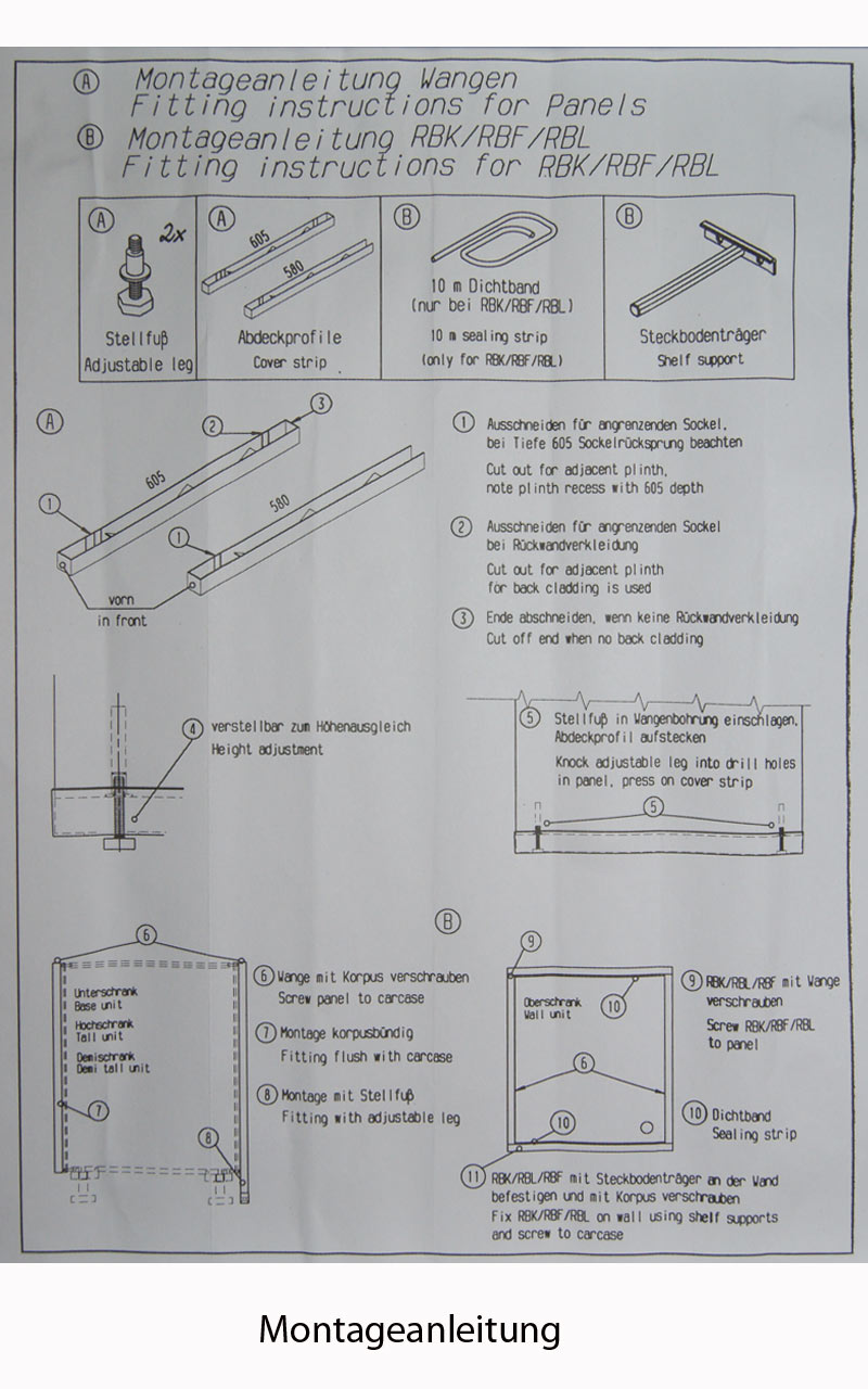 k che sockelleiste grau wellmann wangenschuh wsa25 585 f. Black Bedroom Furniture Sets. Home Design Ideas