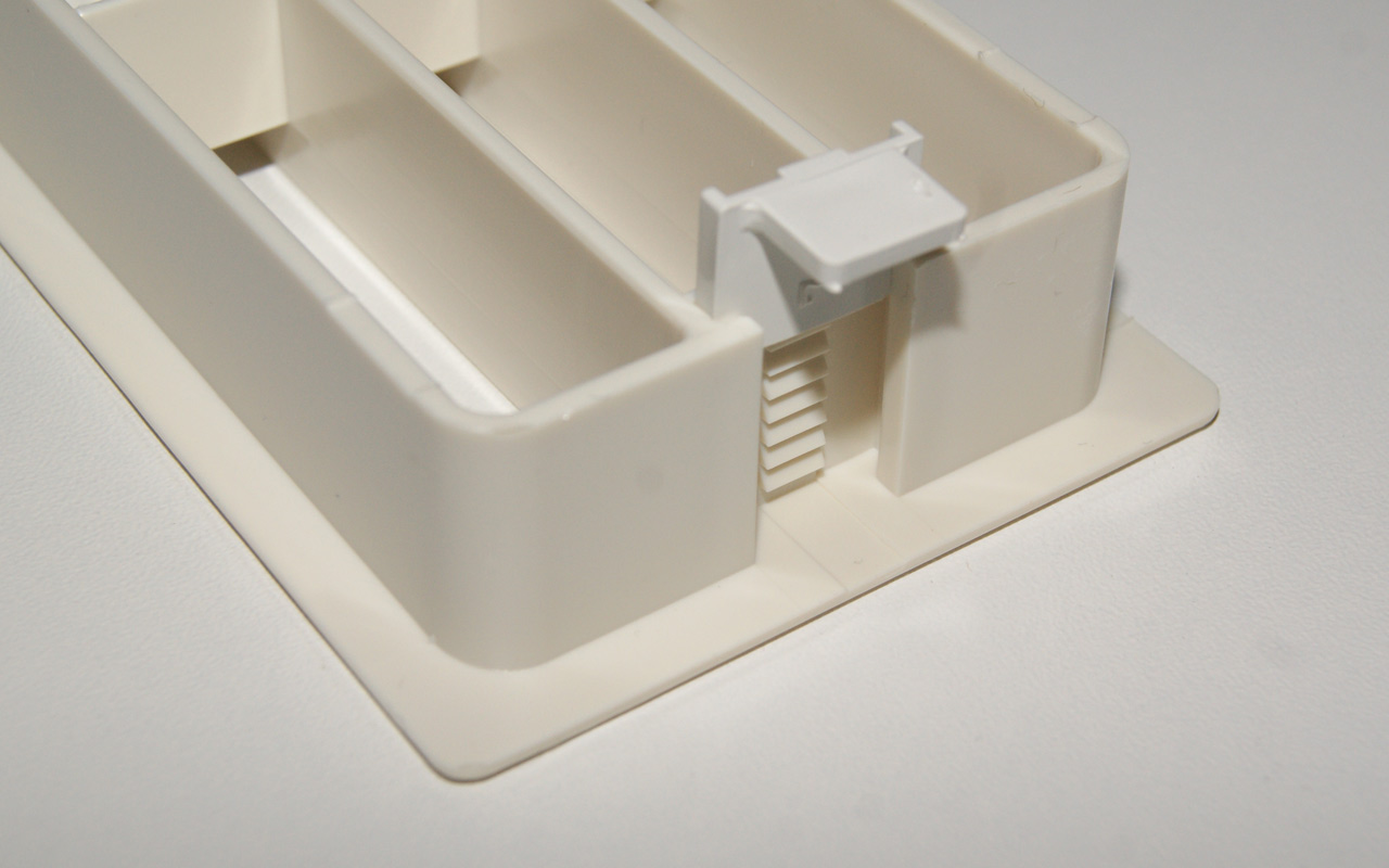 Wellmann Lüftungsgitter für Küche Hochschrank Kühlschrank ...