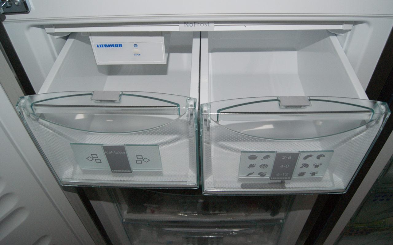 liebherr sbses 7165 side by side wein vinidor eismaker biofresh weinschrank ebay. Black Bedroom Furniture Sets. Home Design Ideas