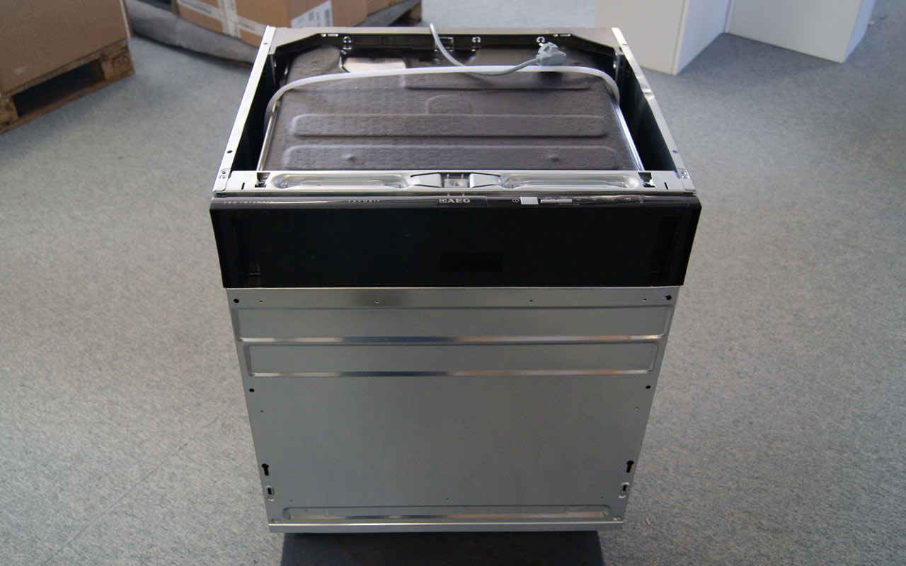 60 cm aeg einbau sp lmaschine vollintegriert orig 829 a beladungserkennung. Black Bedroom Furniture Sets. Home Design Ideas