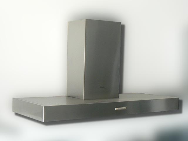 120 cm dunstabzug whirlpool sehr sch n und leise edelstahl wandhaube kaminesse ebay. Black Bedroom Furniture Sets. Home Design Ideas