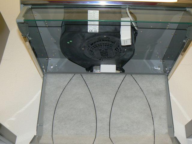dunstabzug unterbauhaube jan kolbe 60 cm umluft abluft ebay. Black Bedroom Furniture Sets. Home Design Ideas
