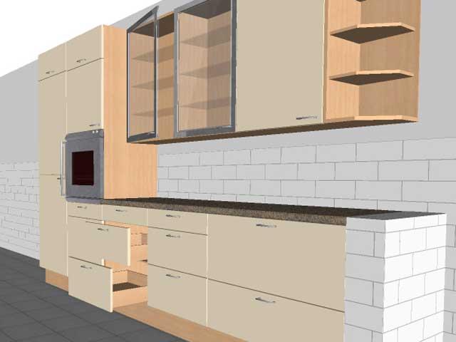 Küchenzeile Alno ~ 2x küche küchenzeile alno viele schubladen orig 8046  ebay