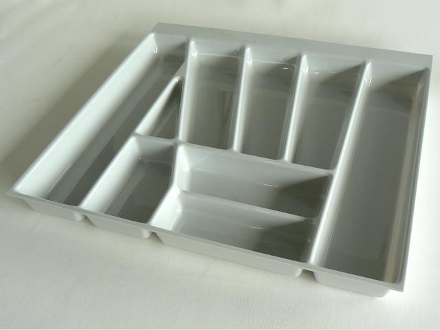 besteckeinsatz besteckkasten k rzbar f r k che schubladen einsatz plastik ebay. Black Bedroom Furniture Sets. Home Design Ideas