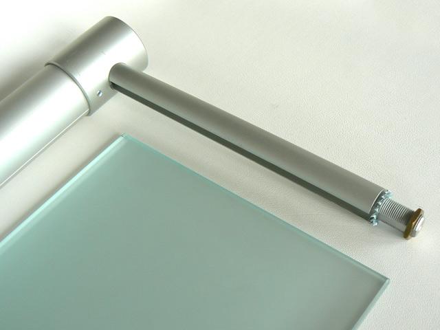 hera leuchtbord regal ablage beleuchtet glasregal licht top 14 watt matt 90 cm ebay. Black Bedroom Furniture Sets. Home Design Ideas