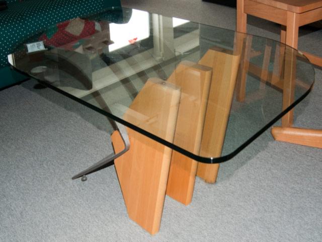 details zu couchtisch glas holz metall tisch glastisch wohnzimmertisc. Black Bedroom Furniture Sets. Home Design Ideas