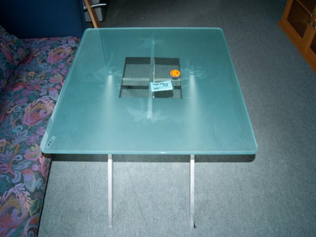Couchtisch Glas Metall Wohnzimmer Tisch Augsburg Auflösung