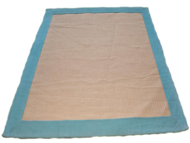 sisal teppich mit t rkiser einfassung l ufer sisal berber nepal orient teppich ebay. Black Bedroom Furniture Sets. Home Design Ideas